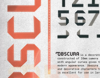 Obscura: A Handmade Typeface