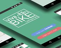 App Interface - Viva Bike Campinas - Projeto Acadêmico