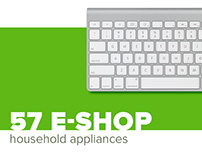 Web-design for ecommerce site of Household Appliances
