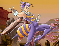 Gender Bendin Darkstalkers characters