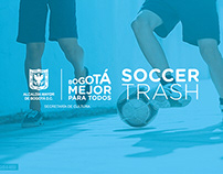 Soccer Trash - BOGOTÁ MEJOR PARA TODOS