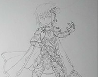 Xelios finished sketch