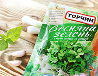 Torchyn Spring Herbs. Packaging renovation