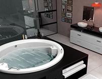 3D Interior to Bathtub Co.