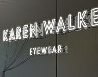 OPTICAL W : KAREN WALKER retail shop design