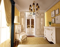 Dormitor casa stil clasic