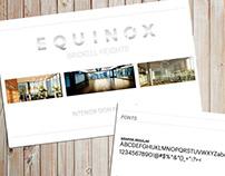 Equinox Interior Signage