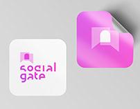 SocialGate - social media marketing brand