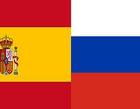 Soi kèo Russia Spain