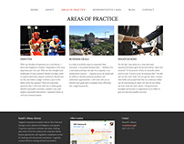Simple Website I created for a NY lawyer