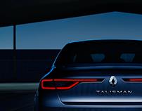 Renault Talisman resonsive website