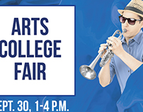 College of Central Florida, Arts College Fair Poster