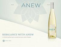 Anew Wines Website
