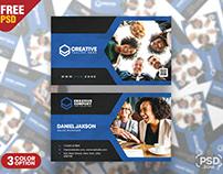 Multipurpose Modern Corporate Business Card PSD