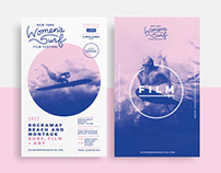 New York Women's Surf Film Festival Branding