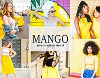 Free Mango Mobile & Desktop Lightroom Presets