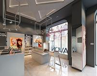 The first showroom AVON in Ukraine