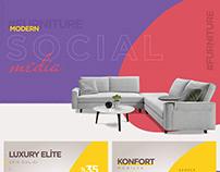 Furniture Modern Social Media Post Design