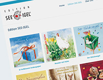 See-Igel: Adaptive Web Design, Programming, Shop