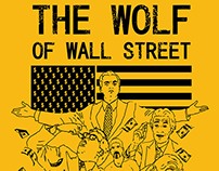 Ilustração - The Wolf Of Wall Street