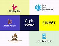 Minimalist Modern Logo Design Bundle-3 (20 Logos Here)