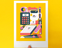 GET CRACKING ART PRINT