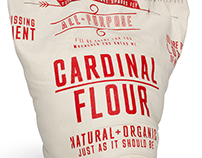 Cardinal Flour Packaging