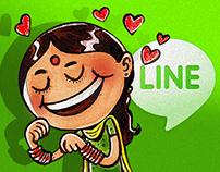 LINE STICKER DESIGN
