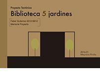 Biblioteca 5 jardines- Proyecto Tectónica -2016-01