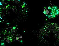 Green Abstraction - VJ Loop Pack (5in1)