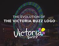 Victoria Buzz Logo Evolution
