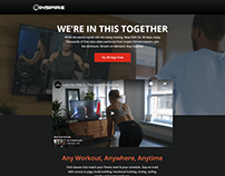 Workout Website
