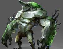 StoneGolem- concept art