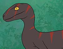 Raptor Animation Clip