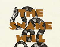 the snake will find a way | poster