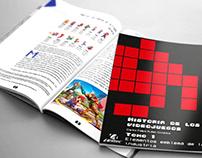La historia de los videojuegos - Diseño Editorial