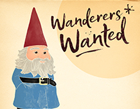 Travelocity Wanderers Wanted Gnome Illustrations