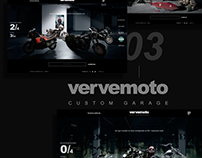 vervemoto custom garage