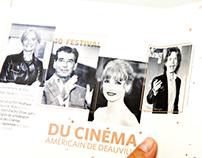 American movie festival Deauville - carte de voeux 2015