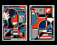 Poster design for Grafik
