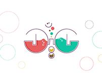 happy 3id typography | عيد سعيد تايبوجرافي