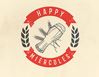 Happy Miércoles - Fridays