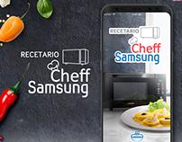 Recipe Cheff Samsung App (Redesing)
