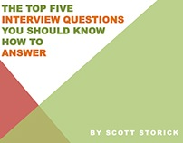 Know How to Answer these Five Interview Questions
