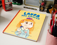 Laura has cancer - A children picture book
