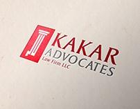 Kakar Advocates Logo Design