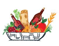 Illustrations for Festival || Armenian Festival