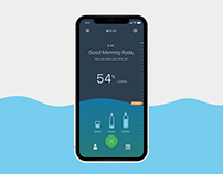 AQUA — A water intake calculator app
