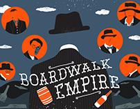 Boardwalk Empire Poster Designs
