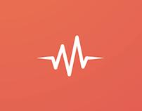 Material Design - UI / UX (Pulse Music App)